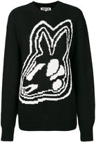McQ by Alexander McQueen bunny jumper - women - Cotton - XXS