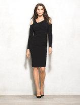 dressbarn BEYOND by Ashley Graham Cold Shoulder Dress
