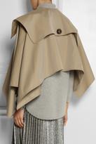 Burberry Cotton-gabardine trench cape