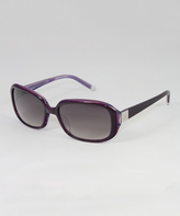 Calvin Klein Amethyst & Purple Gradient Sunglasses - Women