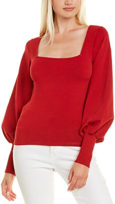 Autumn Cashmere Square Neck Sweater