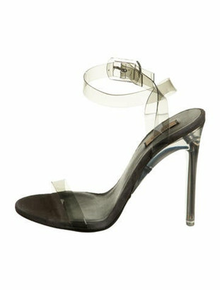 Yeezy PVC Ankle Strap Sandals Grey
