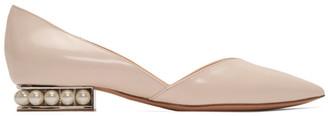 Nicholas Kirkwood Pink Patent Casati DOrsay Ballerina Flats