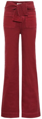 Ulla Johnson Wade high-rise wide-leg jeans
