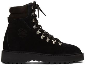 Diemme Black Suede Monfumo Boots