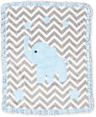 Boogie Baby Big Foot Plush Chevron Elephant Blanket