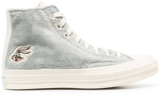 Converse x Bugs Bunny high-top sneakers