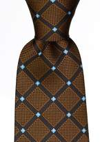 Scott Allan Mens Geometric Necktie