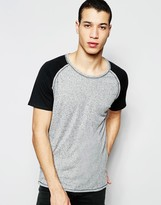 Selected Short Sleeve Raglan T-Shirt
