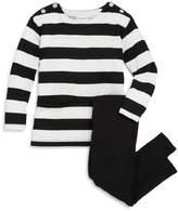 Splendid Girls' Striped Top & Leggings Set