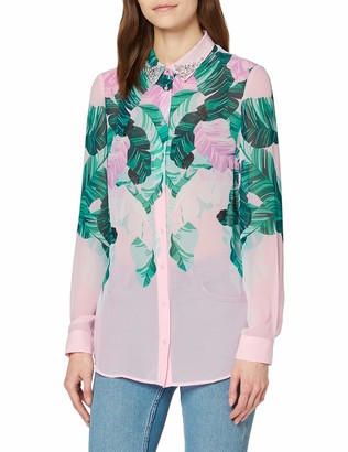 GUESS Women's Ls Clouis Shirt Blouse
