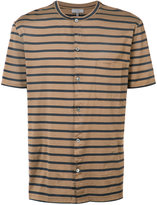 Lanvin striped polo shirt - men - Cotton - M