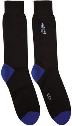 Paul Smith Black London Parks Socks