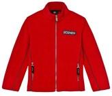 Bogner Red Alteo Polar Fleece Jacket