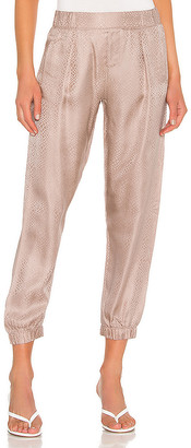 ATM Anthony Thomas Melillo Jacquard Silk Jogger