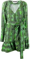 Rotate Nancy snake print dress