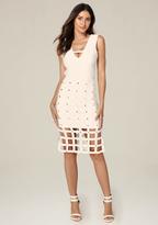Bebe Sia Cage Skirt Dress
