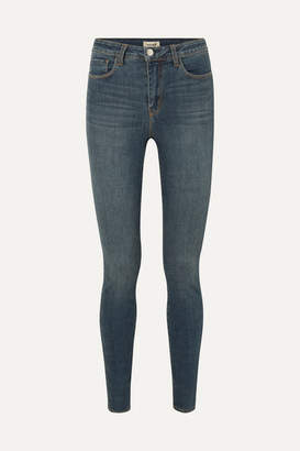 L'Agence Marguerite High-rise Skinny Jeans - Blue
