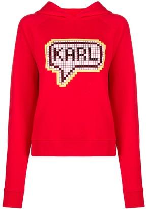 Karl Lagerfeld Paris Pixel hoodie