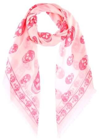 Alexander McQueen Skull-printed scarf