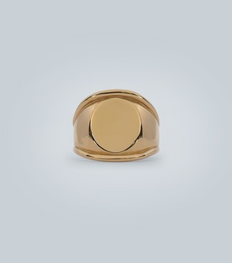 Bottega Veneta Yellow-gold silver ring