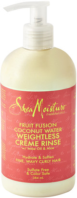 Shea Moisture Fruit Fusion Coconut Water Weightless Creme Rinse Conditioner