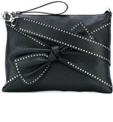 RED Valentino studded bow shoulder bag - women - Calf Leather - One Size