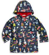 Hatley Toddler's & Little Boy's Space Alien Printed Raincoat