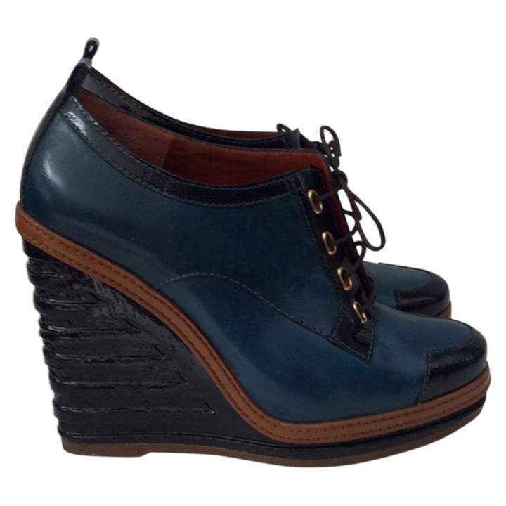 Marc by Marc Jacobs Blue Leather Ankle boots