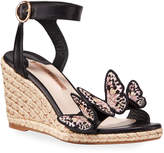 Sophia Webster Riva Mid Wedge Espadrilles