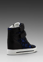 Marc by Marc Jacobs Lace + Heavy Calf Sneaker