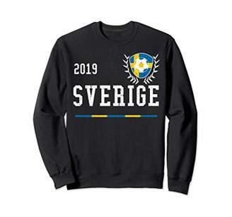 Sweden Football Jersey 2019 Swedish Soccer Jersey Sweatshirt