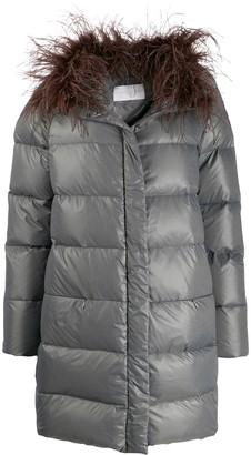 Fabiana Filippi padded midi coat