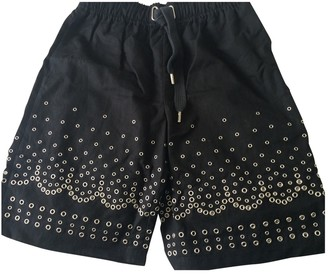 Alexander Wang Black Cotton Shorts for Women