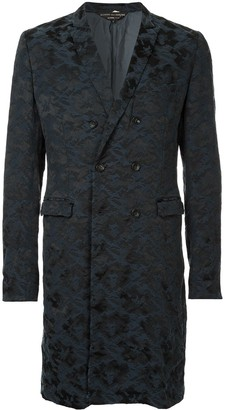 Comme des Garcons Pre-Owned camouflage single breasted coat