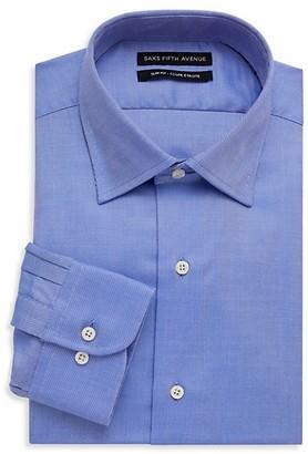 Saks Fifth Avenue Slim-Fit Twill Dress Shirt
