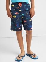 Gap Fishy board shorts