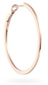 Maria Tash Flat 14kt Rose-gold Single Hoop Earring - Rose Gold