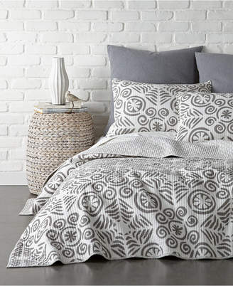 Levtex Home Constantinople Gray Twin Quilt Set
