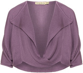 Isolde Roth Plus Size Lapel fine knit jumper