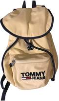 Tommy Jeans Yellow Cloth Backpacks