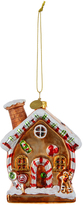 Accessorize Glass Gingerbread House