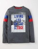 Boden Long Sleeve Logo T-shirt