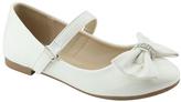 White Bow Mary Jane