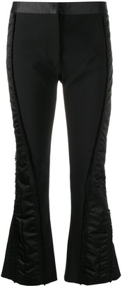 Thierry Mugler Contrast Panel Trousers