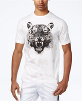 Sean John Men's Studded Tiger Graphic-Print Cotton T-Shirt