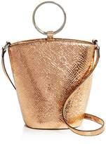 Street Level Rayne Metallic Embossed Mini Bucket Bag - 100% Exclusive