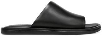 Vince Devoe Leather Slide Sandals