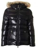Pyrenex Authentic Fur Hooded Puffa Jacket