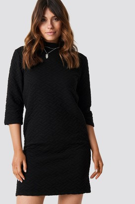 Trendyol Quilted Knitted Dress
